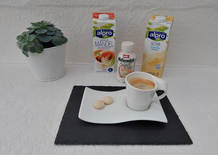 Kaffee mit leckererMilch