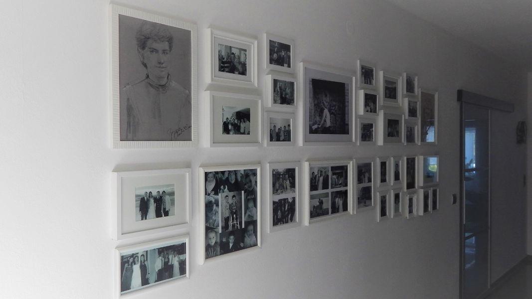 Familien-Fotowand