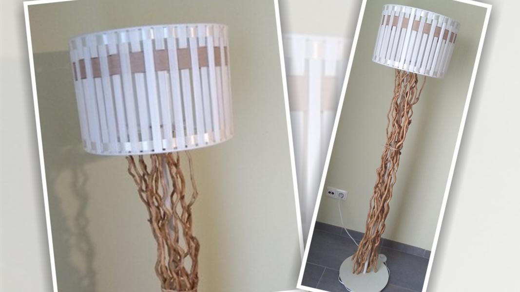 Stehlampe selbst designen