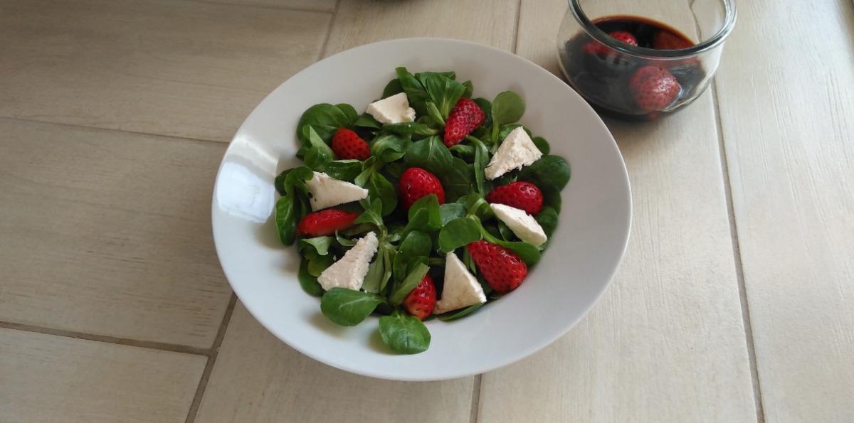 eingelegte Erdbeeren