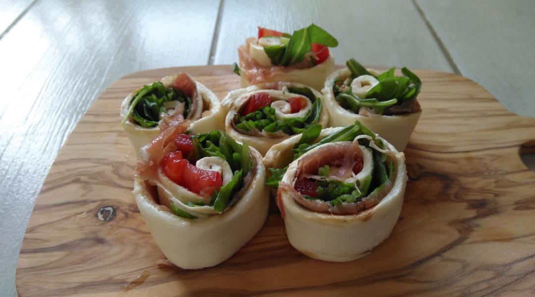 Mozzarella-Schnecken